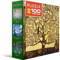 Jigsaw Puzzle - Árbol De La Vida De Gustavo Klimt 100 Piezas