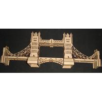 Puente De Londres Rompecabezas Mdf Rompecabeza 3d Gmem04