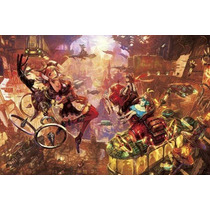 Puzzle - Fantastic Art: Alice In Future World 1000pcs