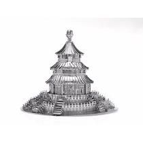 Rompecabezas Miniatura 3d Metálico Templo Del Cielo