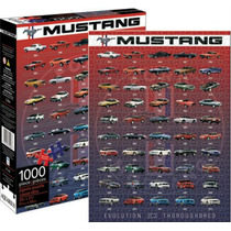 Rompecabezas Aquarius 1000 Piezas Ford Mustang 65228 Colibri