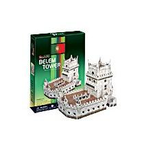Rompecabezas 3d Cubicfun Torre Belem Portugal 46 Piezas