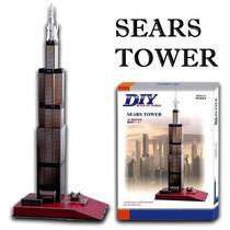 Rompecabezas 3d Torre Sears Maa