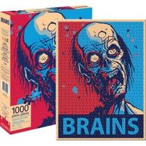 Rompecabezas De 1000 Pzas Rostro Zombie Arte Aquarius 65222