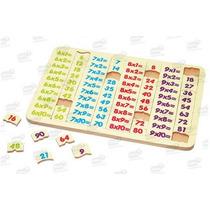 Tablas Multiplicar 6-9 Rompecabezas Madera 41 Pzas 5+ Diako