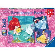 Ravensburger Rompecabezas Disney Princesas 3 X 49 Pzs.