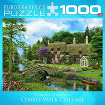 Jigsaw Puzzle - Cobble Cottage Walk 1000 Eurographics Piece