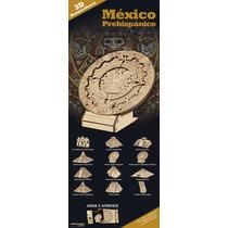 10 Rompecabezas 3d México Prehispánico - Gran Variedad
