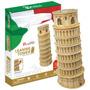Cubicfun 3d Rompecabezas Torre Inclinada De Pisa 30 Pzs.