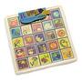 B. Puzzle Plank Alfabética Magnética