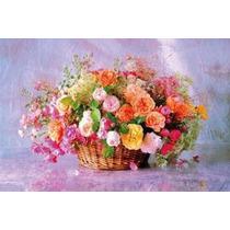 100-111 Bouquet Flores Canasta Rompecabezas 1000 Pzas Tomax