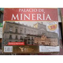 Palacio De Minería Maqueta Rompecabezas De Madera En 3d