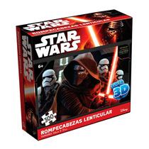 Rompecabezas Star Wars 7 300 Pzs. 3d Lenticular + Poster