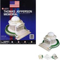 Rompecabezas 3d Puzzle Cubicfun Memoria A Thomas Jefferson