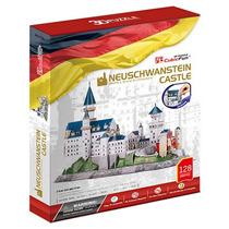 Rompecabezas 3d, Castillo Neuschwanstein 128 Pzas