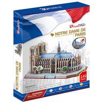 Rompecabezas 3d Cubicfun, Notredame De París 149 Pzas