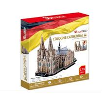 Rompecabezas 3d Cubicfun Catedral De Colonia 179 Pzas A $188