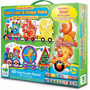 Rompecabezas Infantil Set Doble Trenes Color & Shape 60 Pz
