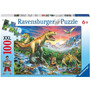 La Era De Los Dinosaurios Xxl 100 Piezas Ravensburger