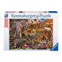 Rompecabezas Ravensburger 3000 Piezas Mundo Animal Africano