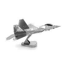 Avion F22 Raptor Rompecabezas 3d Metal Puzzle