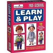 Puzzle Game - Creativas Primeros Años Aprenda N 'play K