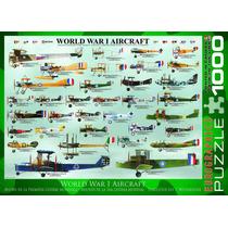 Jigsaw Puzzle - Primera Guerra Mundial Aviones 1000 Piezas E