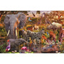 Puzzle Ravensburger 3000 Piezas Animales Africanos 17037