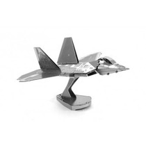 Fascinations Avión F-22 Raptor Rompecabezas 3d Metal
