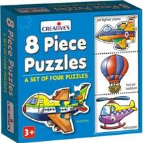Los Primeros Puzzles - Años Creativas 8 Pieza Aprender Apre