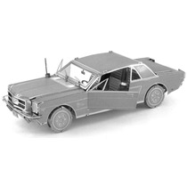 Rompecabezas Metalico 3d Ford Mustang 1965 - Fascinations