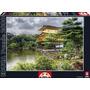 Rompecabezas Educa 2000 Piezas Templo Pabellón Dorado Kyoto