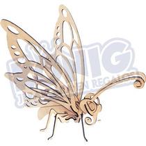 Rompecabezas 3d, Figura Mariposa Armable, Regalo Original