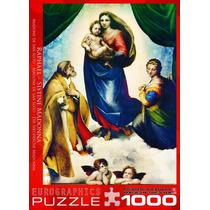 Jigsaw Puzzle - Madonna Sixtina (detalle) Por Raphael 1000