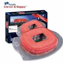 Z-b087 Estadio Bayern Munich Germany Puzzle Clever & Happy