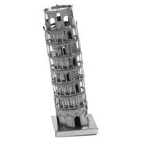 Torre De Pisa Rompecabezas 3d Metal Puzzle