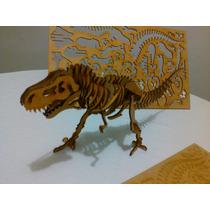 Tiranosaurio T-rex Rompecabezas 3d