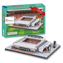 Zb187 Anfield Stadium Liverpool 3d Rompecabezas 165 Pz C & H