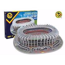 Rompecabezas 3d Nanostad Estadio Azteca America México Fútbo