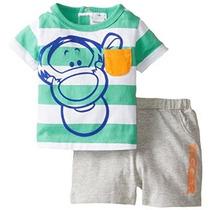 Disney Baby-niños Tigger 2 Piezas Juego Corto