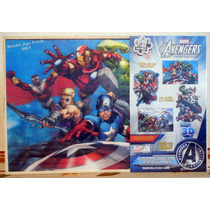 The Avengers 4 Rompecabezas Lenticulares Novelty Corp