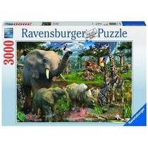 Rompecabezas Ravensburger 3000 Piezas Animales Selva 17070