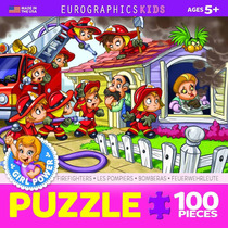 Jigsaw Puzzle - Bomberos 100 Piezas Eurographics