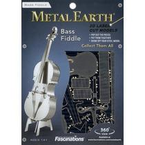 Rompecabezas 3d Instrumento Contrabajo Fascinations Mms081