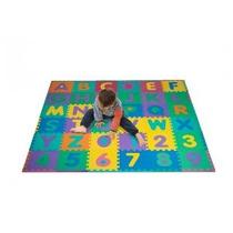 Espuma Piso Alfabeto Y Número Puzzle Mat Para Niños 96 Pieza