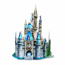 Del Castillo De Cenicienta 3d 200 Piezas Puzzle
