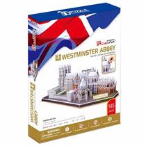 Rompecabezas 3d Westminster Abbey (uk) - Cubicfun
