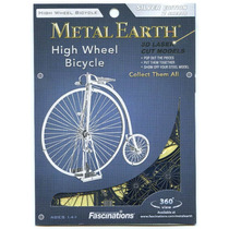 Bicicleta Antigua Rompecabezas 3d Fascinations Metal Earth