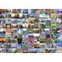 Puzzle Ravensburger 1000 Piezas 99 Lugares Del Mundo 19371
