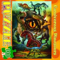 Jigsaw Puzzle - Los Dinosaurios Carnívoros 100 Piezas